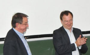 Dr. Wolfgang Looss und Hans-Georg Huber mit 2 spannenden Coaching-Vorträgen
