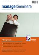 Führung heute - Ein Artikel von Hans-Georg Huber in ManagerSeminare